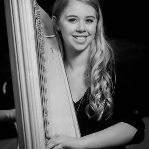 Claire Honl - Harpist in Rochester, Minnesota