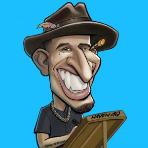 Haven The Artist - Caricaturist in Los Angeles, California