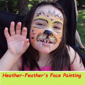 Heather-Feather's Face Painting - Face Painter in Peterborough, Ontario