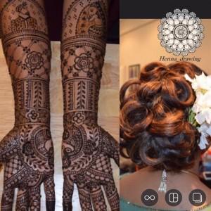 Henna drawing/tattoo - Henna Tattoo Artist / Hair Stylist in Rohnert Park, California