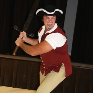 Hercules of the Revolution - Historical Character in Davidson, North Carolina