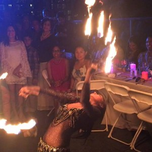 Hoopsie Daisies - Fire Performer / Fire Eater in New York City, New York