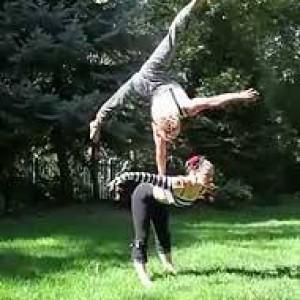 Hope&Roilan Corporate Balance - Balancing Act / Circus Entertainment in Salt Lake City, Utah