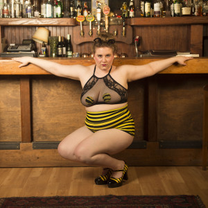 """Hunny Bee """"The World's Only Bee-lesquer"""" - Burlesque Entertainment in Seattle, Washington"""