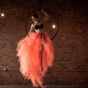 Inverted Aerial - Aerialist in New York City, New York