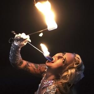 Ivizia Dakini - Fire Eater in Las Vegas, Nevada