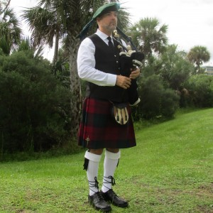 James Freeman, The Artist Bagpiper - Bagpiper in Williston, Florida
