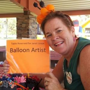Janet Lenox - Balloon Twister in North Las Vegas, Nevada