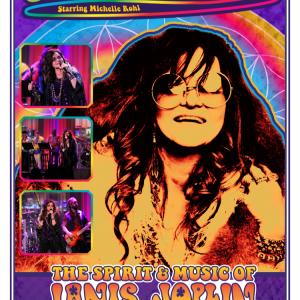Janis Joplin Tribute Artist - Michelle Rohl