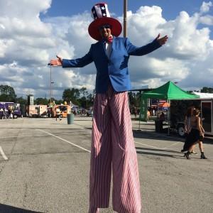 Jax Stilt Walker - Stilt Walker / Circus Entertainment in Jacksonville, Florida