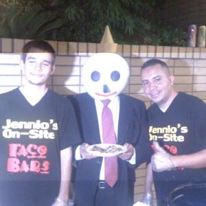 Jennios Onsite Taco Bars - Caterer in Los Angeles, California