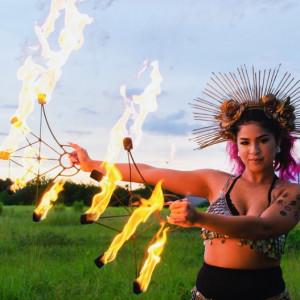 Joan Velazquez Performance Art - Hoop Dancer / Fire Dancer in Orlando, Florida