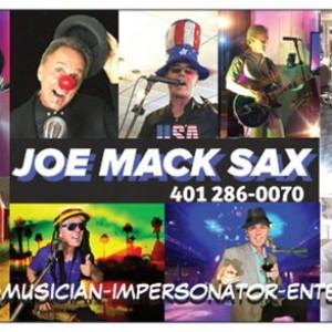 Joe Mack Sax - One Man Band in Providence, Rhode Island