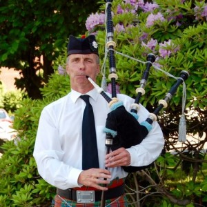 John Chalmers - Bagpiper in Bethel, Connecticut