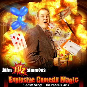 John Fitzsimmons - The Comedy Trickster - Comedy Magician in Scottsdale, Arizona
