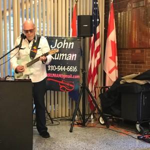 John Ruman - Singing Guitarist in Niles, Ohio