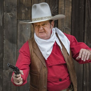 John Wayne Impersonator Jeff Wayne Sutherland