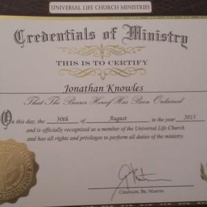 Jon's Wedding Service - Wedding Officiant in Mesa, Arizona