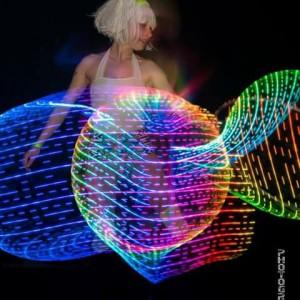 Julie Elizabeth Performance Art - Hoop Dancer in Lincoln, New Hampshire