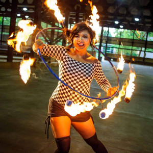 Juliette Antony - Fire Performer / Aerialist in Akron, Ohio