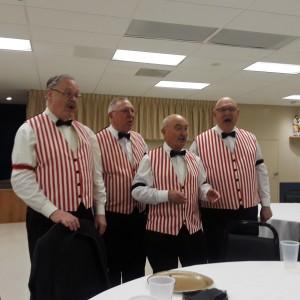 Just Four Grins Barbershop Quartet - Barbershop Quartet in Fairfax, Virginia