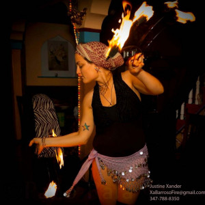 Justine Xander - Fire Performer / Fire Dancer in New York City, New York