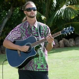 Ka'imi Hanano'eau - One Man Band in Kaneohe, Hawaii