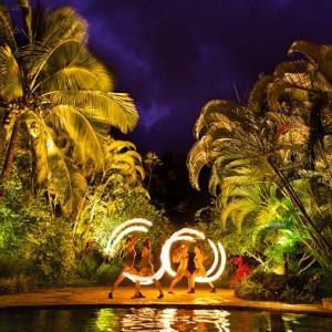 Kalalea - Fire Dancer in Honolulu, Hawaii