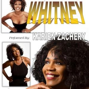 Karien Zachery as Whitney Houston - Whitney Houston Impersonator in Gardena, California
