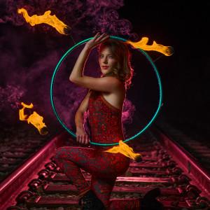 Katie Rose - Hoop Dancer / Fire Dancer in Irvine, California