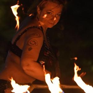 Katmandu - Fire Dancer in Sarasota, Florida
