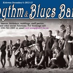 Kelowna Secondary School Rhythm and Blues Band - R&B Group in Kelowna, British Columbia