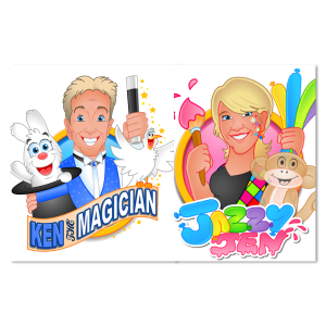 Ken the Magician & Jazzy Jen - Children's Party Magician in Egg Harbor City, New Jersey