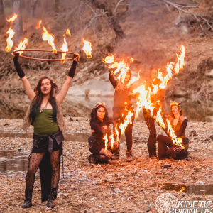 Kinetic Spinners - Fire Performer / Fire Eater in Falls Church, Virginia