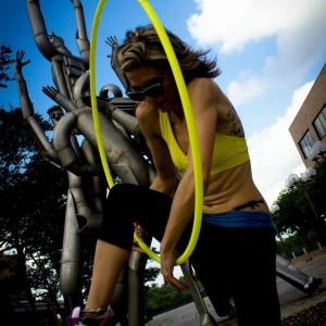 Krista The Hoop Girl - Hoop Dancer in Lake Charles, Louisiana