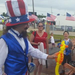 "Kyle ""the Clown"" Johnston - Circus Entertainment in New Orleans, Louisiana"