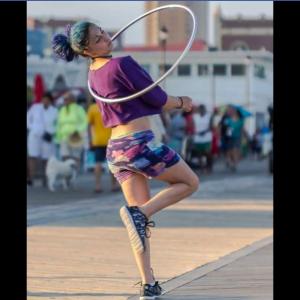 Lady Blue - Hoop Dancer in Morganville, New Jersey