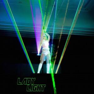 Lady Light Lasegirl - Laser Light Show in Las Vegas, Nevada