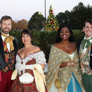 Like the Dickens Carolers - Christmas Carolers in Atlanta, Georgia