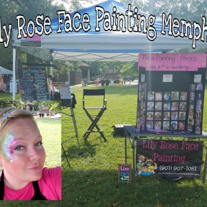Lily Rose Face Painting - Face Painter in Memphis, Tennessee