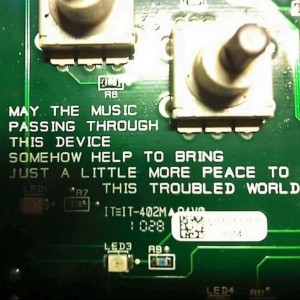 live Sound operator / recording