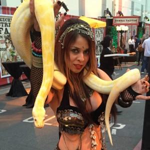 Los Angeles Belly Dancer Snake Charmer Katia - Belly Dancer / Temporary Tattoo Artist in Los Angeles, California