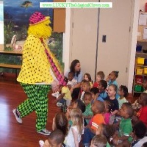 LUCKY The Magical Clown - Children's Party Entertainment in Baltimore, Maryland