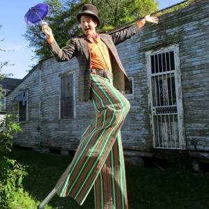 Luke Brechtelsbauer - Stilt Walker / Circus Entertainment in New Orleans, Louisiana