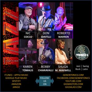 Gene-n-Tonics - Jazz Band / Bossa Nova Band in Detroit, Michigan