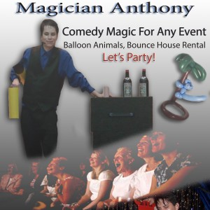 Magician Anthony - Magician / Holiday Party Entertainment in Racine, Wisconsin
