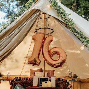 Make Memories Glamping Party Tent Rental