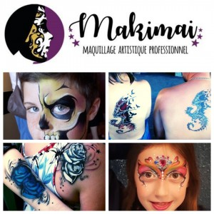Makimai - Face Painter / Airbrush Artist in Gatineau, Quebec