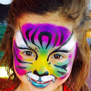 Making Faces and Body Designs - Face Painter / Balloon Twister in Bellingham, Massachusetts
