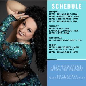 Maria Palacio - Belly Dancer in Columbia, South Carolina